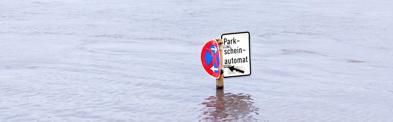 Rheinhochwasser in Köln - Foto von Nicole Hundertmark