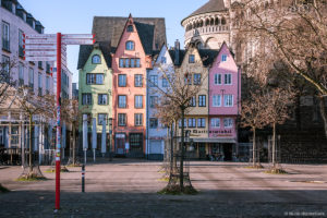 Neujahrsmorgen in der Kölner Altstadt