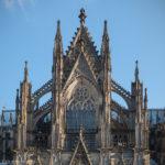 Detailansicht vom Kölner Dom
