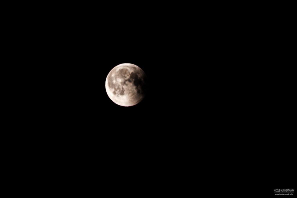 Mondfinsternis über Köln