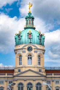 Turmuhr vom Schloss Charlottenburg