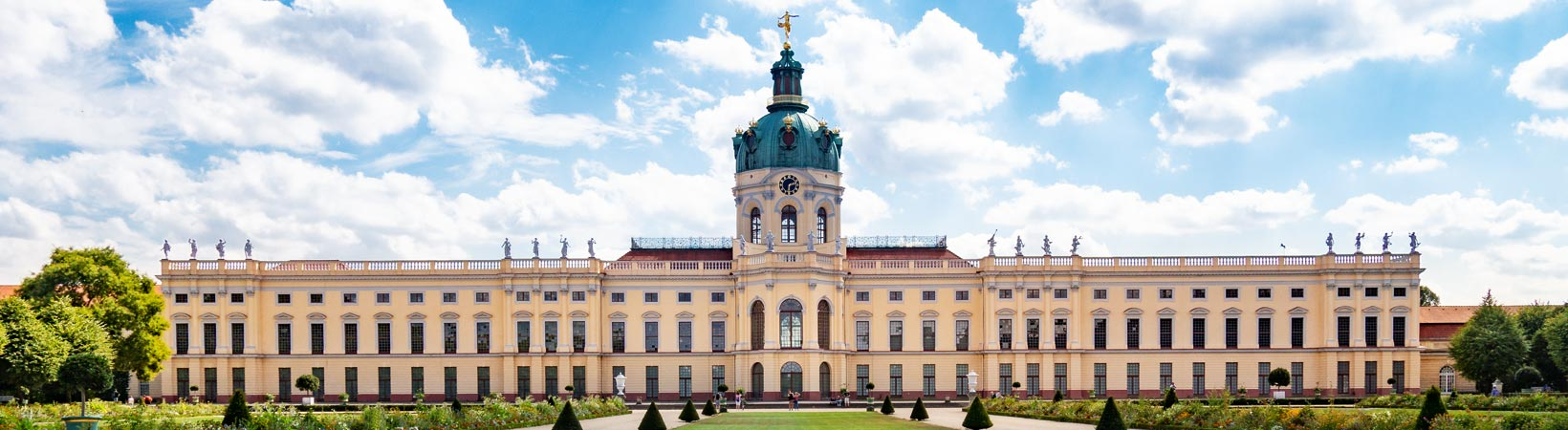 Fotos vom Spaziergang zum Schloß Charlottenburg