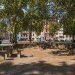 Sitzplätze am Hansapark