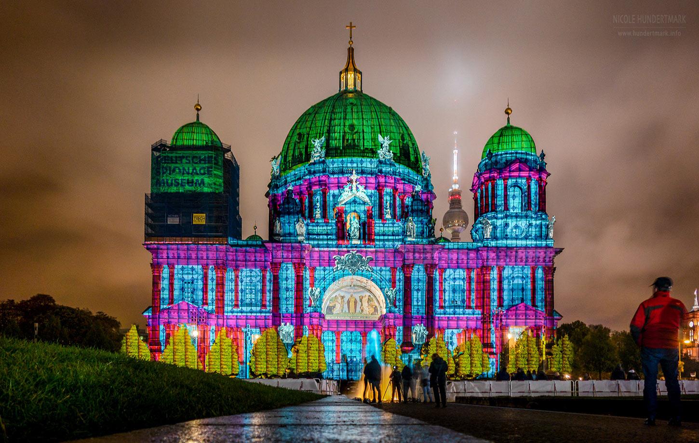 Berliner Dom mit Pani-Illumination