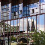 Schöne Spiegelung vom Kölner Dom